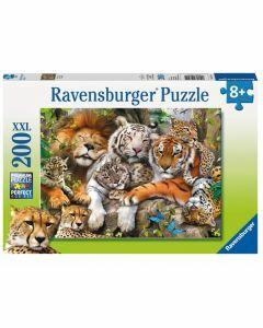 Big Cat Nap 200 Piece Puzzle (Ages 8+)