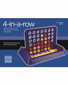 Blue Opal: 4-in-a-Row (Ages 6+)