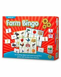 Match It! Farm Bingo (Ages 3+)