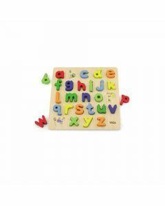 Block Puzzle: Alphabet Lowercase (Ages 18+ months)