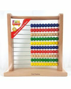 Fun Factory: Wooden Abacus (Ages 3+)