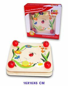 Flower Press Ladybug (Ages 3+)