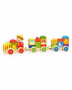 Stacking Train - Farm - TKC452 (Ages 18+ months)