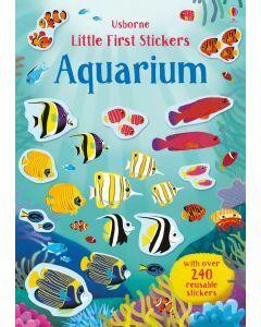 Usborne Little First Stickers - Aquarium (Ages 3+)
