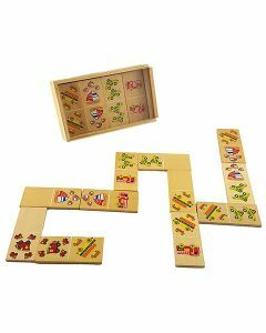 Wooden Picture Dominoes - Vehicles (Ages 3+)