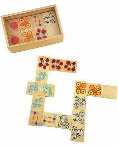 Wooden Picture Dominoes - Garden (Ages 3+)