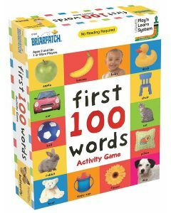 First 100 Words Activity Game - 01301 (Ages 2+)