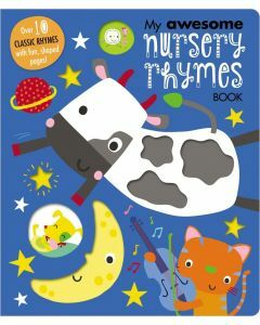 My Awesome Nursery Rhymes Book (Ages 1-5)