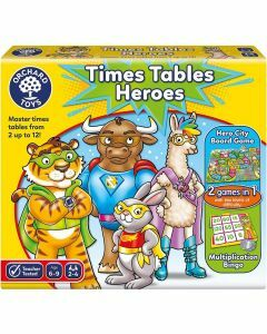 Orchard Toys Time Tables Heroes (Ages 6 to 9)