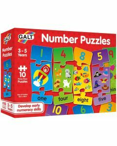 Number Puzzles (Ages 3 to 5)