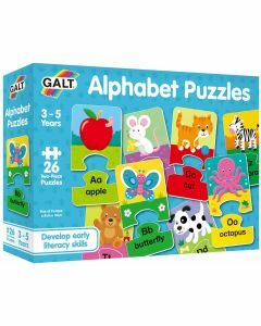 Alphabet Puzzles (Ages 3 to 5)