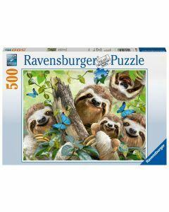 Sloth Selfie 500 Piece Puzzle (Ages 10+)