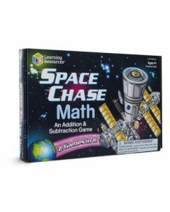 Space Chase Math Game (Ages 4+)