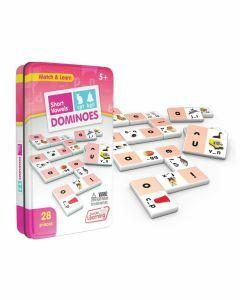Short Vowels Dominoes (Ages 5+)