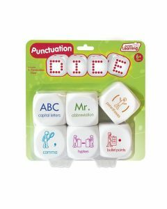 Punctuation Dice (Ages 6+)