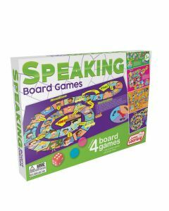 Speaking Board Games 4-in-1 (Ages 3+)