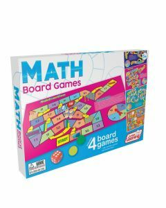 Math Board Games 4-in-1 (Ages 5+)