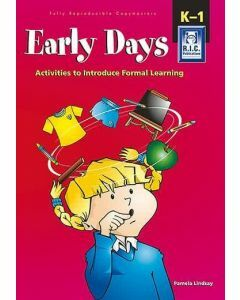 Early Days: Activities to Introduce Formal Learning (Ages 4-6)