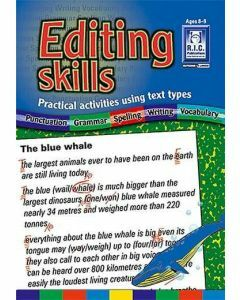 Editing Skills (Ages 8-9)