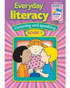 Everyday Literacy Book 1 (Ages 4-6)