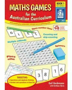 Maths Games for the Australian Curriculum Book 1 (Year 1-2)