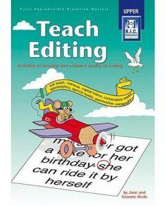Teach Editing (Ages 11+)