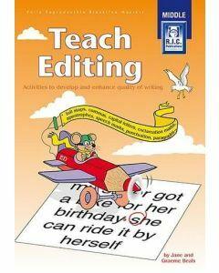 Teach Editing (Ages 8-10)