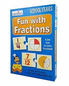 Fun with Fractions (Ages 6+) [Temporarily out of stock]