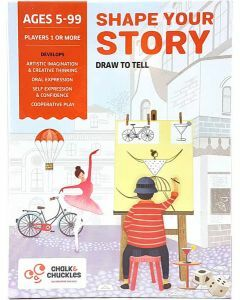 Shape Your Story - Draw to Tell (Ages 5+)