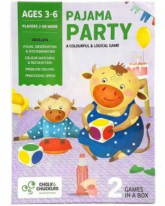 Pajama Party - A Colourful & Logical Game (Ages 3-6)