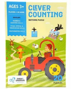 Clever Counting - Matching Puzzle (Ages 3+)