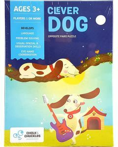 Clever Dog - Opposite Pairs Puzzle (Ages 3+)