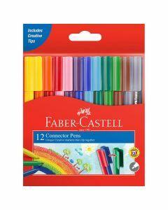 Faber-Castell Connector Pens 12pk