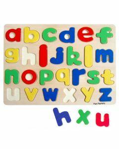 Raised Lower Case Alphabet Puzzle (Ages 3+)