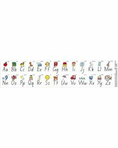 Alphabet Desk Strip in NSW Foundation (Set of 30)