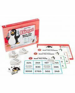 Place Value Bingo: Beat the Penguin (Ages 6+)