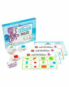 Colour & Shape Bingo: Beat the Octopus (Ages 4+)