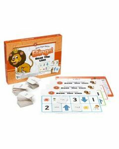 Basic Sight Words Bingo: Beat the Lion (Ages 5+)