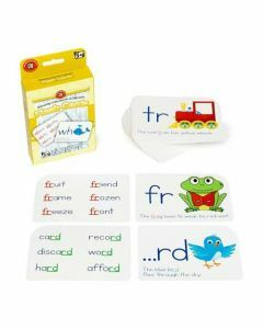Blending Consonants & Digraphs Flash Cards (Ages 5+)