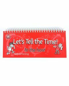 Let's Tell the Time! to the hour Flip Book