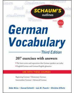 Schaum's Outline of German Vocabulary 3e