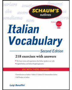 Schaum's Outline of Italian Vocabulary 2e