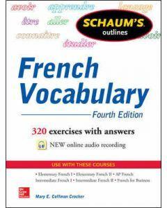 Schaum's Outline of French Vocabulary 4e