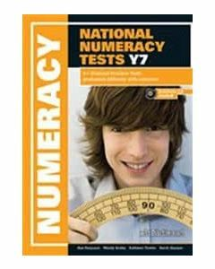 A+ National Numeracy Practice Tests Year 7