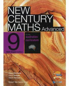 New Century Maths Advanced 9 for the Australian Curriculum (NSW Stages 5.2/5.3)