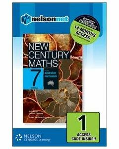 New Century Maths 7 for the Australian Curriculum NSW Stage 4 (1 Access Code)
