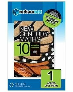 New Century Maths 10 for the Australian Curriculum NSW (1 Access Code)