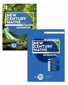 [Pre-order] New Century Maths 10 Advanced 2e Student Book with 1 Access Code and Workbook [Due mid-2021]