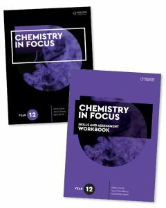 [Pre-order] Chemistry in Focus Year 12 Student Book with 4 Access Codes and Skills & Assessment Workbook [Due Aug 2021]