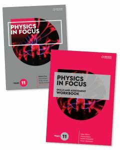 Physics in Focus Year 11 Student Book with Access Code and Skills & Assessment Workbook